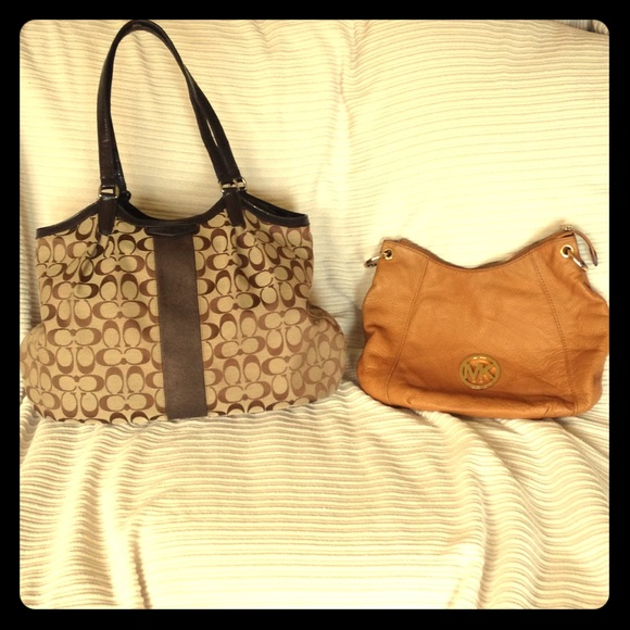 53458c1224 Coach Handbags - Michael Kors AND Coach Bags PACKAGE!